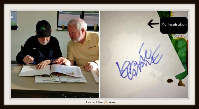 Eric Carle Book Signing