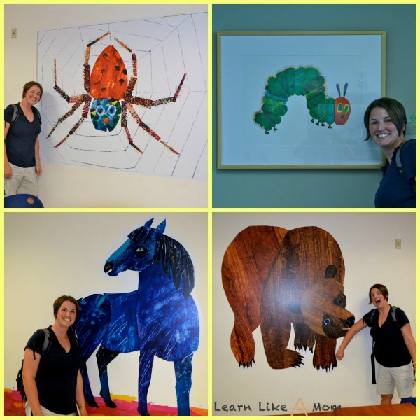 Learn Like a Mom with Eric Carle illustrations