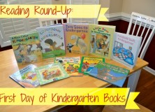 Reading Round-Up: First Day of Kindergarten Books