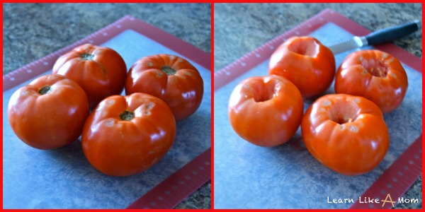 tomatoes for homemade marinara sauce