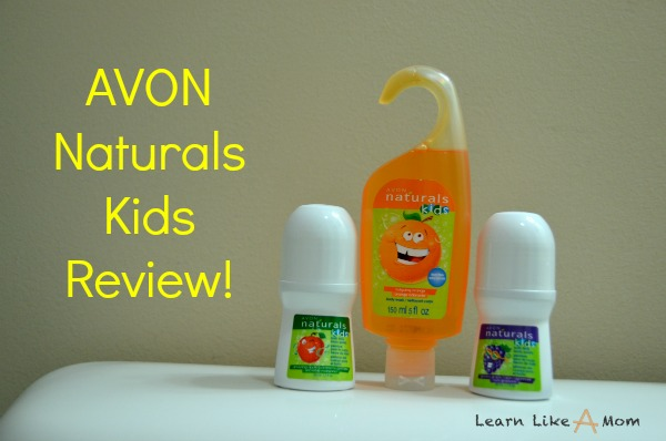 Learn Like A Mom Avon Naturals Kids Review Learn Like A