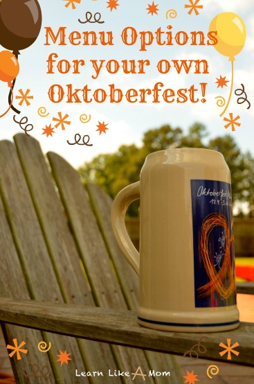 Oktoberfest Menu Options for Your Own Party! - Learn Like A Mom! https://learnlikeamom.com/oktoberfest-menu/ #Oktoberfest #Oktoberfestmenu #Oktoberfestrecipes #Germanfoodrecipes