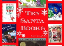 Reading Roundup: Santa Books