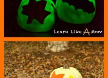 Glow-in-the-Dark Decorative Pumpkins