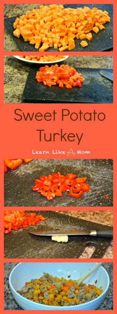 Sweet Potato Turkey - Learn Like A Mom! https://learnlikeamom.com/sweet-potato-turkey/ #turkeyrecipe #sweetpotatorecipe