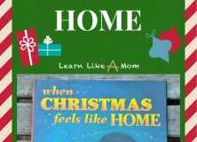 When Christmas Feels Like Home by Gretchen Griffith and Illustrated by Carolina Farias
