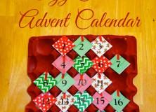 Egg Carton Advent Calendar
