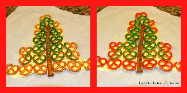 decorate Santa snacks with icing