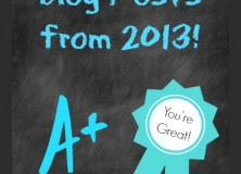 My Favorite Blog Posts from 2013