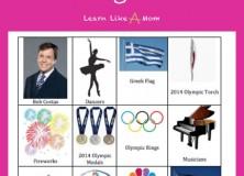 2014 Olympics Opening Ceremony Scavenger Hunt