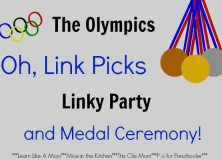 The Olympics, Oh Link Picks Linky Party and Medal Ceremony #3!