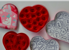 Valentine's Day Candy Box Games